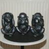 Store aber - ikke se, ikke høre, ikke tale.